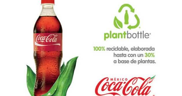 Avec sa nouvelle bouteille PlantBottle 100% naturelle, Coca-Cola va révolutionner le green packaging.