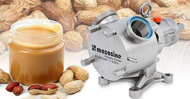 La production du beurre d'arachide boostée par la MasoSine SPS200 de Watson Marlow