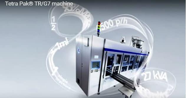 Tetra Pak TR/G7: la nouvelle machine de remplissage high-tech de Tetra Pak