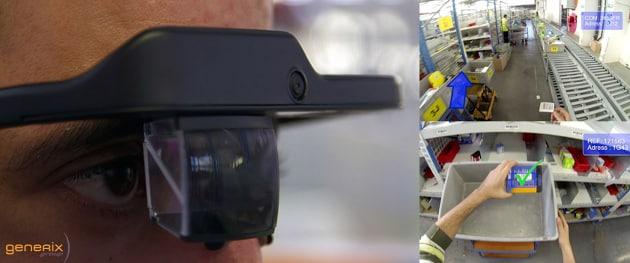 industrie utilisant lunettes connectées