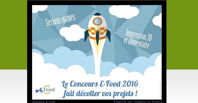 Le concours E-Food prime les nouvelles technologies au service de l'alimentaire