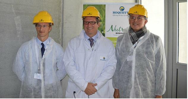 Roquette inaugure sa nouvelle unité de production de protéines de pois en Picardie