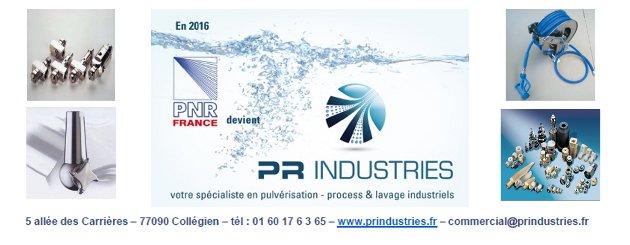 PR Industries : des solutions de pulvérisation pour les process et le lavage industriels