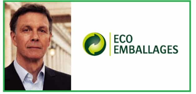 Jean Hornain mommé directeur général d'Eco-Emballages