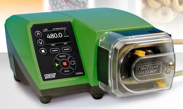 La nouvelle pompe 530 de Watson Marlow conçue pour répondre aux exigences de l'agroalimentaire
