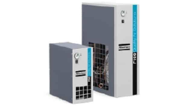 Atlas Copco lance sa gamme F de sécheurs d'air frigorifiques économiques