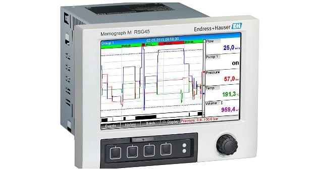 Endress+Hauser dévoile RSG45, l'enregistreur graphique évolué