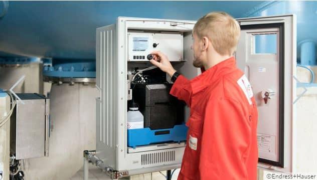 Endress+Hauser, leader mondial dans l'analyse des liquides