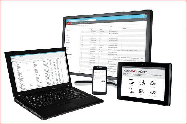 Le logiciel FactoryTalk AssetCentre simplifie la gestion du cycle de vie et automatise la détection des actifs