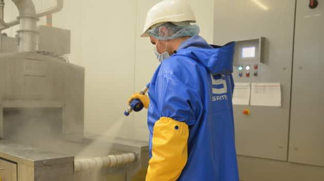 Samsic propose une offre de formation dans le nettoyage.