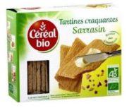 Céréal Bio rappelle ses Tartines au sarrasin