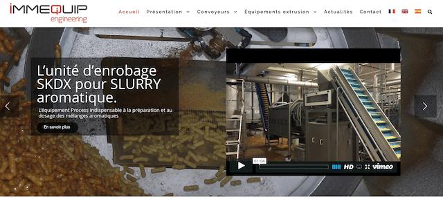 Immequip dévoile sa nouvelle interface web
