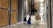 BA Systèmes automatise avec AGV une 2ème usine pour FrieslandCampina