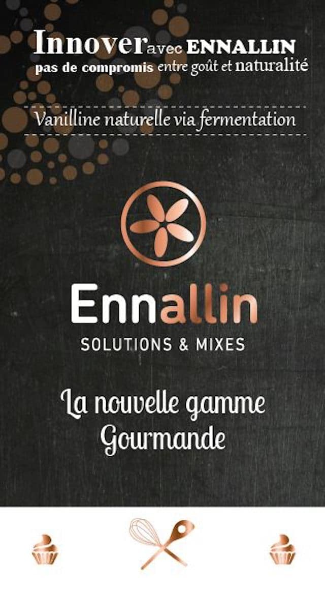Mixes de vanilline naturelle : c'est possible avec Ennallin !