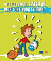 17,1 millions d'euros pour le programme « lait à l'école»