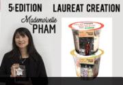 Concours agroalimentaire biologique: Mademoiselle Pham remporte le prix Création