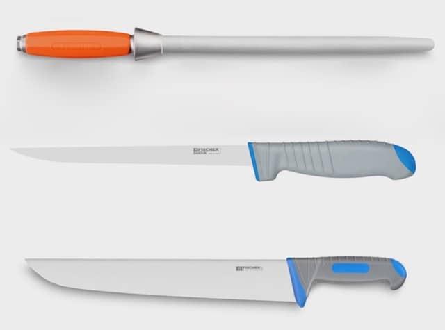 [2017] CFIA / Fischer-Bargoin : Lancement du fusil TS-17 et des couteaux Fisher Sandvik