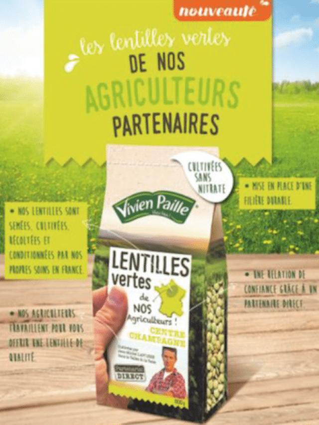 Soufflet veut passer de 60 à 100% de lentilles made in France