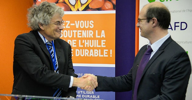 Le Cirad et l'Alliance française pour une huile de palme durable concluent un partenariat