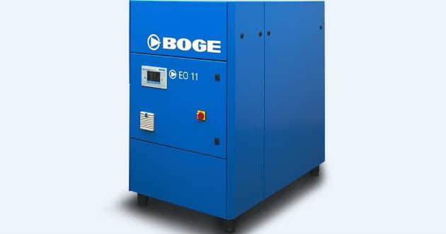 BOGE présente ses nouveaux compresseurs à spirale pour un air comprimé sans huile