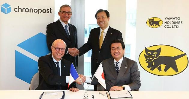 Yamato Holdings et Chronopost s'associent pour le transport de produits frais et surgelés