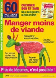 Culture Viande analyse le Hors-série «Manger moins de viande»