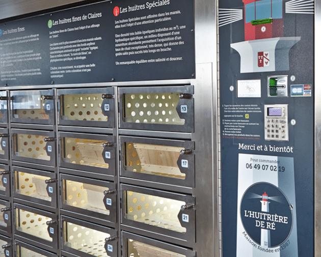 Innovation : Un distributeur d'huîtres en libre service