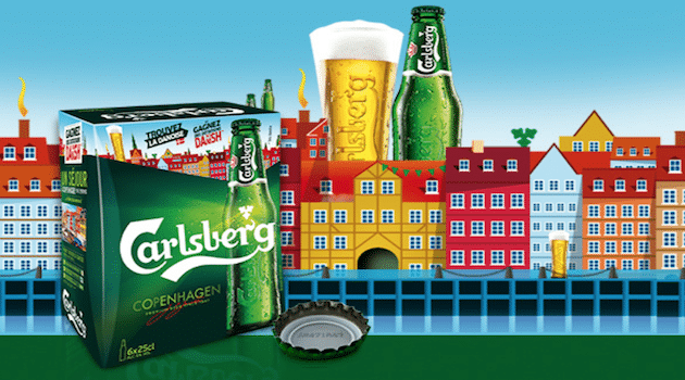 Carlsberg s'engage à diminuer sa consommation d'eau de 50% d'ici à 2030