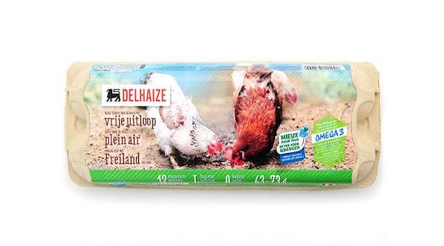 Delhaize s'engage à supprimer tous les œuf de poules en cage d'ici fin 2020