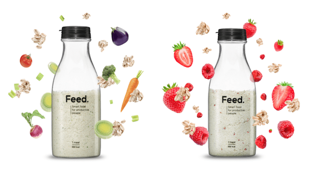 La foodtech française Feed. lance la première Smart food « Ready-to-drink » en Europe