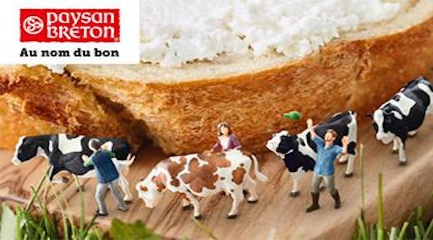 Nouvelle campagne de communication pour la marque Paysan Breton