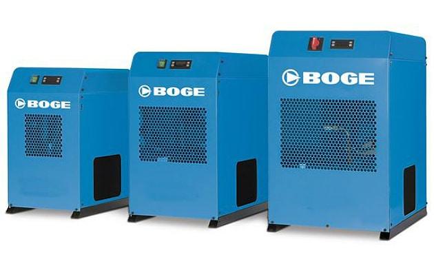 BOGE présente ses nouveaux sécheurs frigorifiques et sécheurs tandems