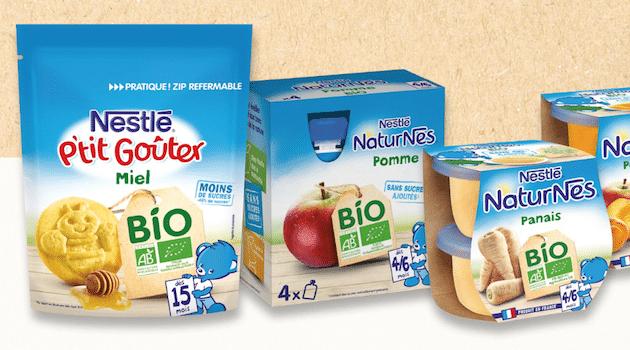 Nestlé Bébé lance une gamme Bio