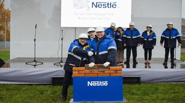 Nestlé lance sa première usine d'alimentation infantile en Russie