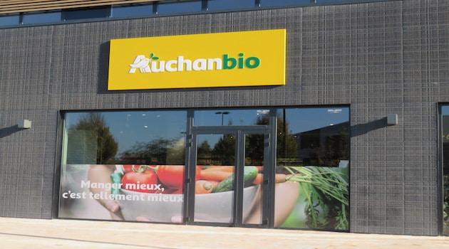 Le 1er magasin Auchanbio ouvre ses portes