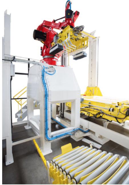 [2017] Europack Euromanut CFIA : Cetec Industrie complète sa gamme en solution de palettisation, avec le robot