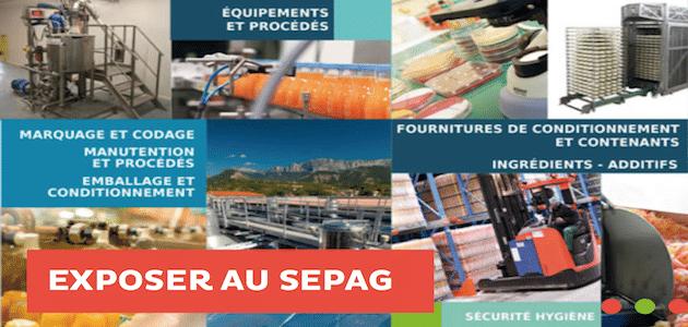 [2018] SEPAG : Le Salon des Equipements et Process / Valence