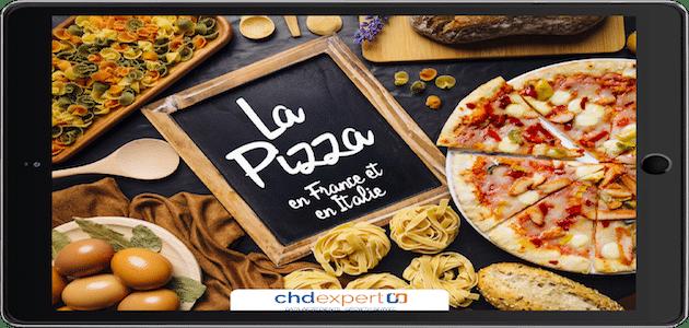 La pizza a toujours la cote en France et en Italie