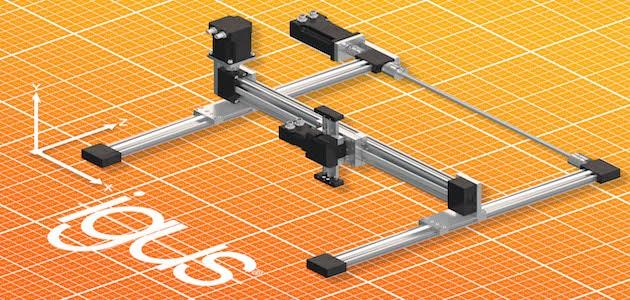 Portique 3D : Le Drylin E, compact et économique, de chez igus