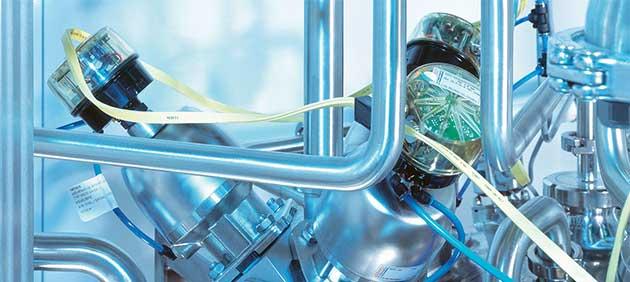 Une usine de test à l'usine de Kempten pour le traitement laitier et produits dérivés