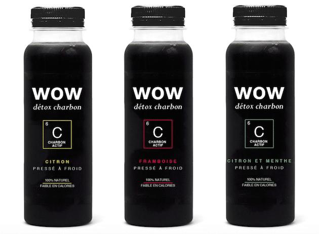 Tendance : Wow Food & Drinks intègre le charbon actif dans ses boissons