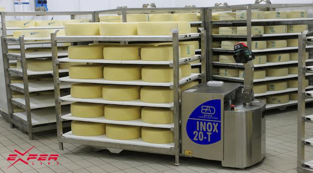 [2018] CFIA / Manutention : Experlift présente sa gamme 100% inox