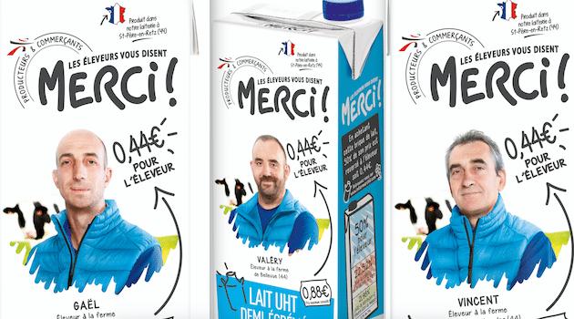 Le lait citoyen des éleveurs et la laiterie Saint-Père d'Agromousquetaires