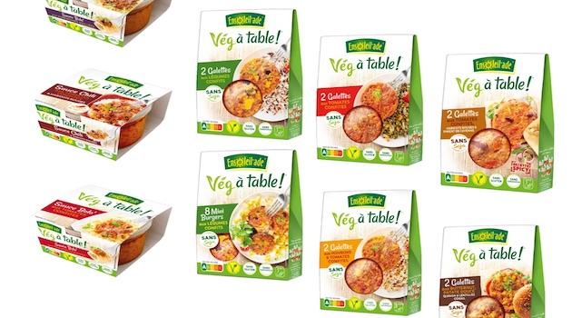 Ensoleil'ade lance «Vég à table !», une gamme 100% saine et végétale