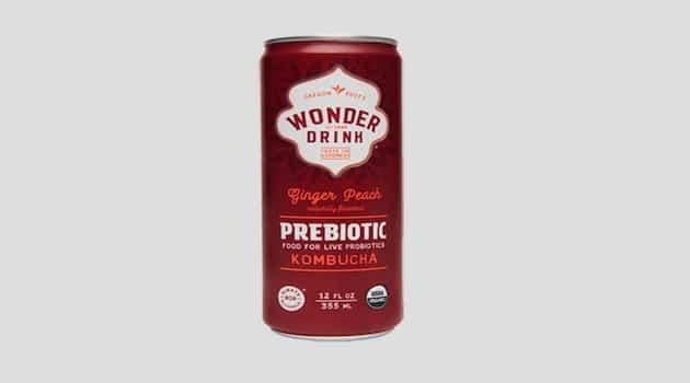 Boisson : Wonder Drink lance un Kombucha prébiotique