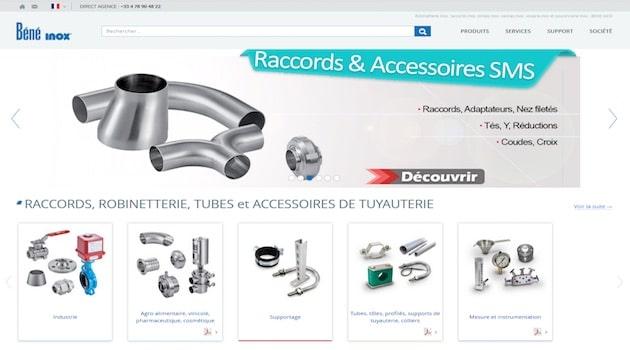[2018] CFIA / Pratique, rapide et efficace : Béné Inox lance son nouveau site internet