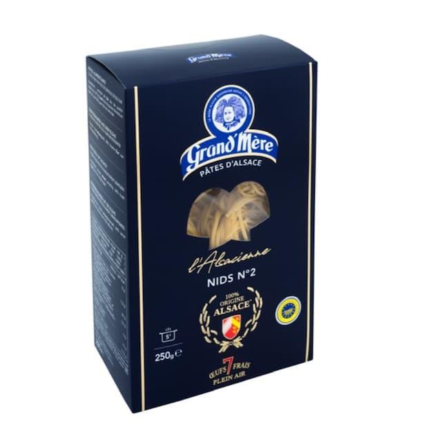 Les Pâtes Grand'Mère lancent L'Alsacienne, une gamme premium aux ingrédients 100% Alsace