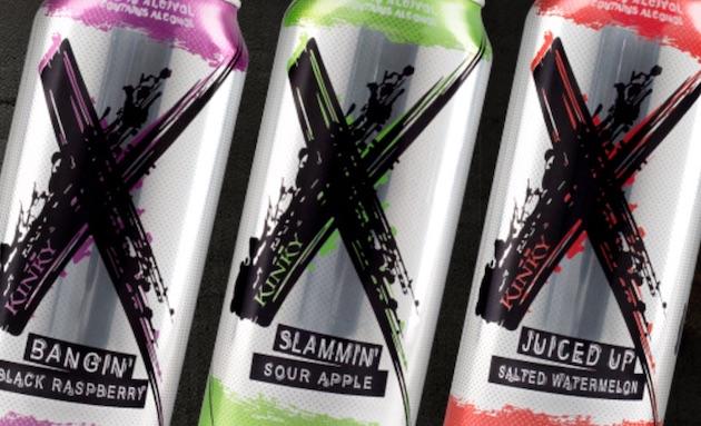 La gamme Kinky cible les millénnials avec sa boisson maltée aromatisée X
