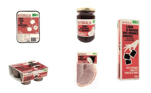 Naturalia dévoile le nouveau packaging de sa marque