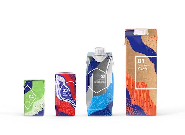 Packaging : De nouveaux effets pour les matériaux d'emballage arrivent sur le marché